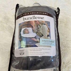 Gray Fleece Baby Carrier Cover